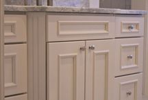 Bathroom Project Gallery / A collection of bathroom designs featuring Top Knobs cabinet hardware.