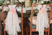 krzesła dekoracja