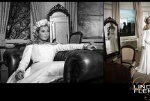 Alison - Bespoke Wedding Dress / All images by Duncan Holmes Photography, taken at Cornhill House near Biggar, Scotland.