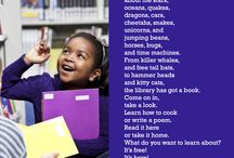 Poems about Books, Reading, and Libraries / Poems that focus on the fun of reading, books, and libraries