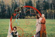 Свадебный фестиваль в стиле бохо