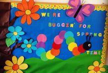 Thematic boards kindergarten