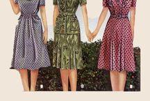 My Styles: 1920s-1950s <3