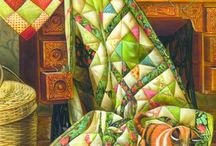 Art quilts sewing