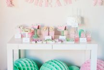 Girls Slumber Party Ideas / A slumber party is perhaps the very best kind of party when you're a kid. Its almost like a rite of passage for boys and girls. Spending the night over a friends house brings a thrill of growing up for kids and ends up being a great bonding experience. Here are some of our favorite ideas / by Birthday in a Box