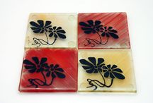 Coasters set / by virtuly glass