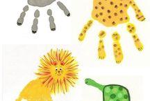 детские поделки рисунки