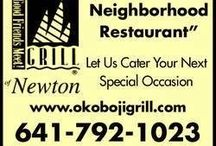 Where to Eat in Newton, Iowa / Restaurants, coffee shops, deli's, fast food places to eat at in Newton, Iowa.