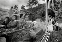 Master photographer Raghu Rai of India / Raghu Rai... his work has instant recognition through the whole world.  Nobody has photographed India better.