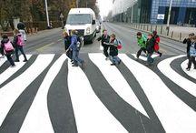 пешеходные пространства города