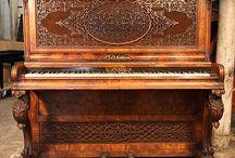 1840 - 1850 Piano Case Styles / 1840 - 1850 Piano Case Styles
