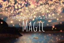 I put a spell on you / a little magic everyday sends the ugliness away!