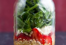 Super Salad Dressings - Healthy and Yummy / Yes, you can make creamy salad dressings without mayo and sour cream; And experiment with something other than olive oil and balsamic vinegar.  Get ready for your salads to POP!