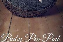 Pea pod cocoon pate