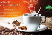 Mélange d'épices / A CHACUN SON PLAISIR ! Mieux qu'un bon café Dar Chahrazade vous fait partager l'insoutenable plaisir des épices et des fine herbes, véritable concentré de parfums et de couleurs, de dépaysement assuré des fins gourmets .