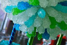 Candy themed Bat Mitzvah! / Candy centerpieces, candy bars, candy favors, and more!