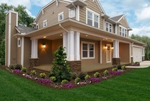 The Chelsea Exterior / Learn more about our Chelsea floorplan here: http://waynehomes.com/plan/chelsea / by Wayne Homes
