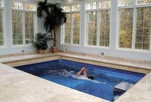 spa and indoor pool