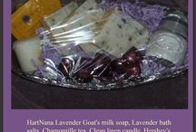 Goats Milk Soap Gift Baskets / How to make spa gift baskets