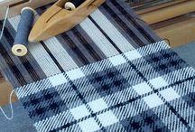 Kudonta kangaspuissa - Weawing