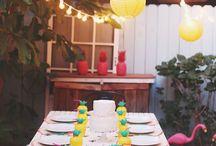Tropical garden party