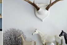 Horses on the mantle