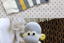 bichinhos feito de meias