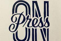 Typographie / Layout / Ligne Editorial