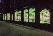 Careland Pharmacy / Pharmacy Design; retail store design; retail concept design;