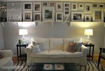 living room / by Heather Cignoli