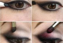 Makeup / Tips de auto maquillaje  Self make up tips / by Karla Montoya