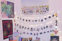 kpop decor ^bedroom^