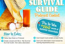 My Summer Survival Guide / Cute Bright fun things to wear and safe sun protection are essential for my summer!