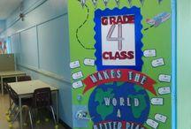 Around the World classroom theme