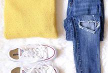 Bilder av klær/strikk