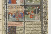 Lancelot Prose / BnF Arsenal 3479-80, C'est le livre de messire Lancelot du Lac (Lancelot Prose), circa 1405-1425. (Two-volume partial edition of the Vulgate Cycle)