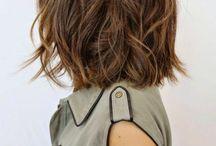 schulterlange haare