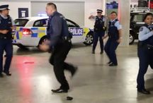 New Zealand Police Celebrated Diwali By Dancing / The New Zealand police force have been trolling the internet by their fantastic acts. They sing, they take challenges and now they dance to Bollywood tunes on Diwali.