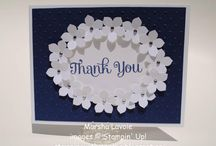 Four You Stampin' Up Stamp Set Greeting Cards