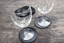 Morrows TOTTO coasters / TOTTO - a set of 8 pcs. rubber pads - very useful on every table or other piece of furniture, under any glass.