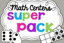Math Centers / by Tiana Marshall