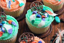 Dreamcatcher cupcakes