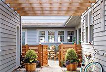 Garden and outside area ideas