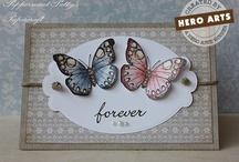 Cards - Butterfly / by Kristine Kubitz Fossmeyer