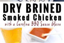 chicken smoked