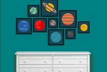 Baby Boy    Space Nursery