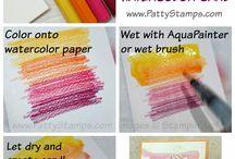 SU - Watercolour pencils