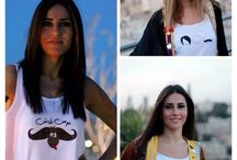 Fashion 4 a Cause / Pictures of the tanks that were donated by Jobedu, funds generated by sold items will be donated to the King Hussein Cancer Center New Expansion