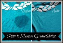 stain removal and other things