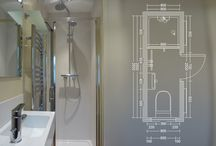 narrow ensuite ideas